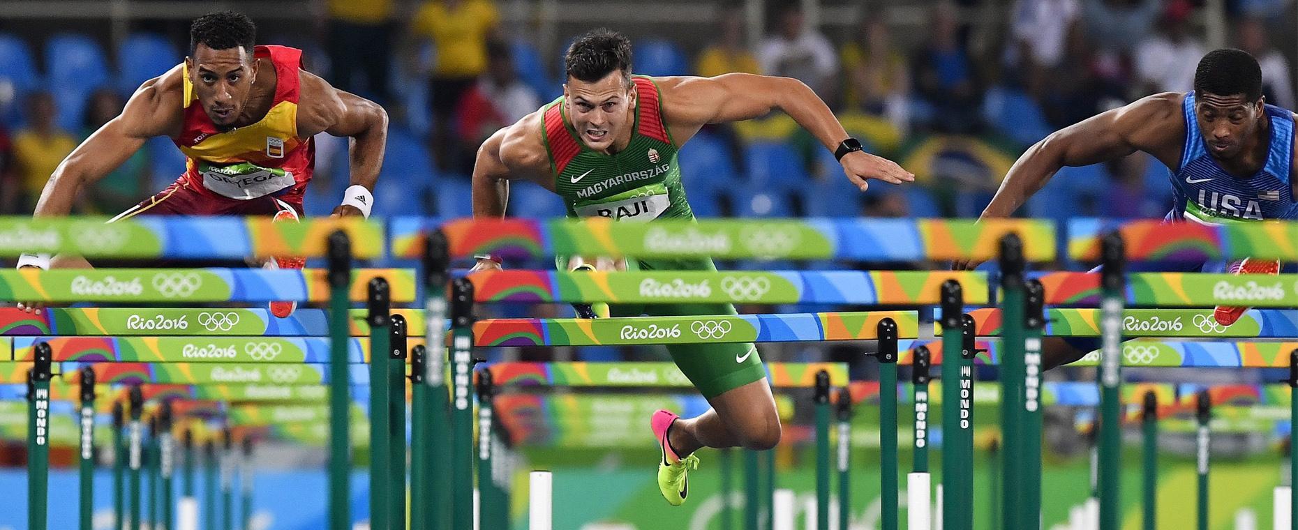 Riói elődöntősünk Baji Balázs 110 m gátfutó