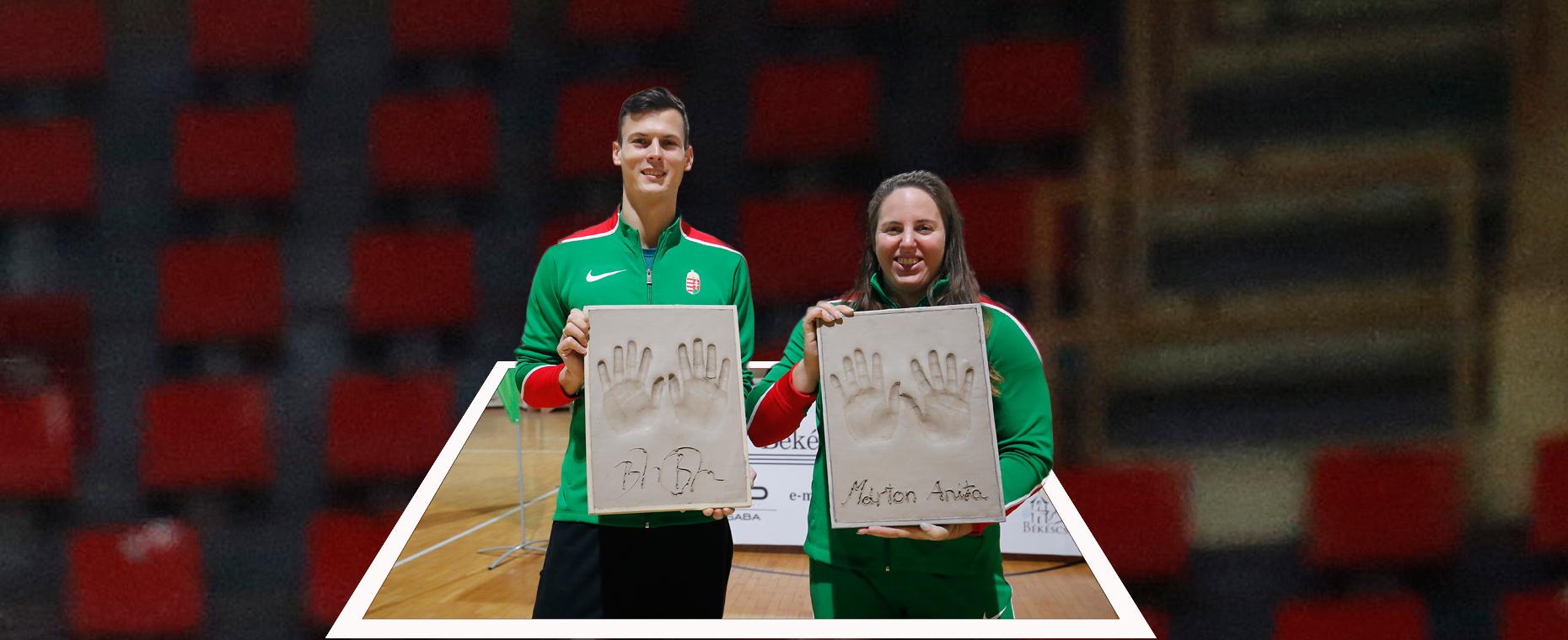 Baji Balázs ,   Márton Anita